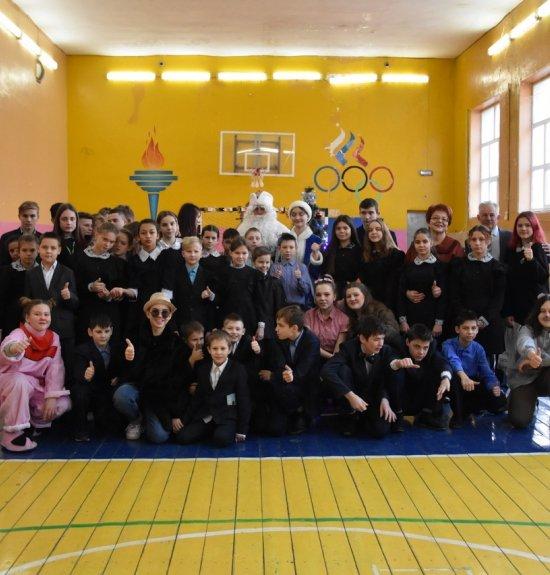 #МолодёжьРузаевки подарила #НовогоднееЧудо воспитанникам Ялгинского детского дома